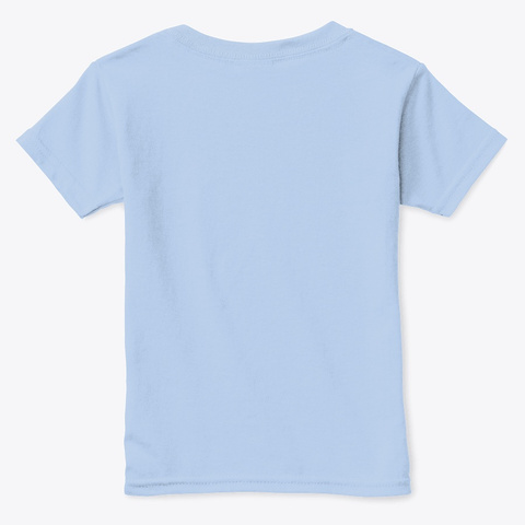 Warrior Kids Podcast Light Blue T-Shirt Back