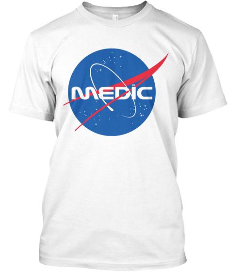 Medic White T-Shirt Front
