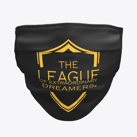 The League Of Extraordinary Dreamers Black T-Shirt Front