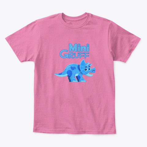 Mini Gruff True Pink  T-Shirt Front