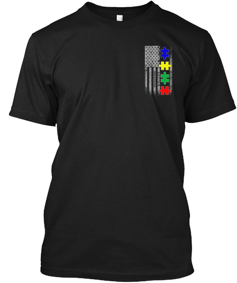 Autism   Limited Edition! Black T-Shirt Front