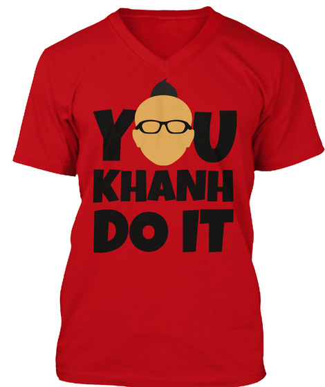 You Khanh Do It Red Camiseta Front