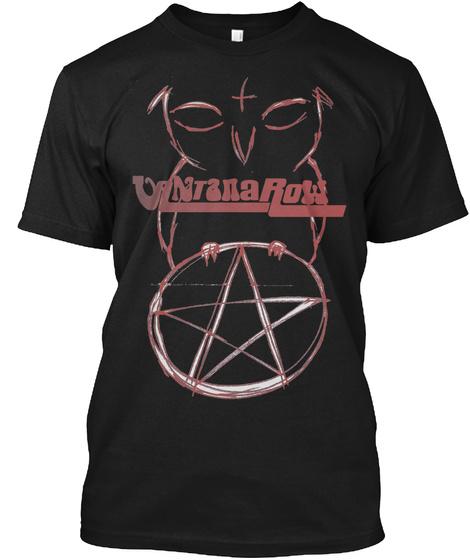 Uantanarow Black T-Shirt Front