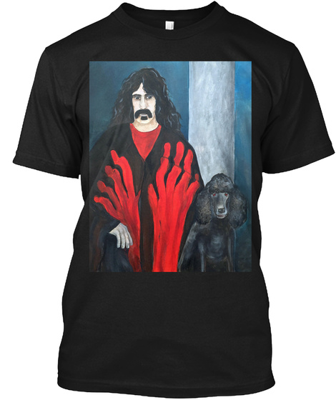 Created By Debbie Manos Hands Of Fate Black T-Shirt Front