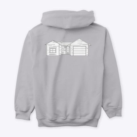 Classic Burbs Hoodie   All Colors Sport Grey T-Shirt Back