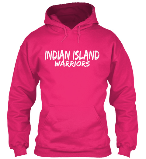 Indian Island Warriors Heliconia T-Shirt Front