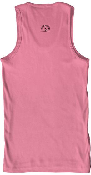 Otm:  Yoga Is... Neon Pink T-Shirt Back
