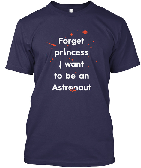 Forget Princess 3 [Int] #Sfsf Navy T-Shirt Front