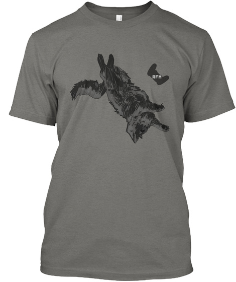 Rebel Fm   Podcats   Freya Tee Grey T-Shirt Front