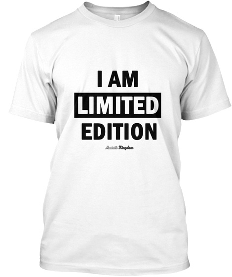 Limited Edition   H/F/Goodies White T-Shirt Front