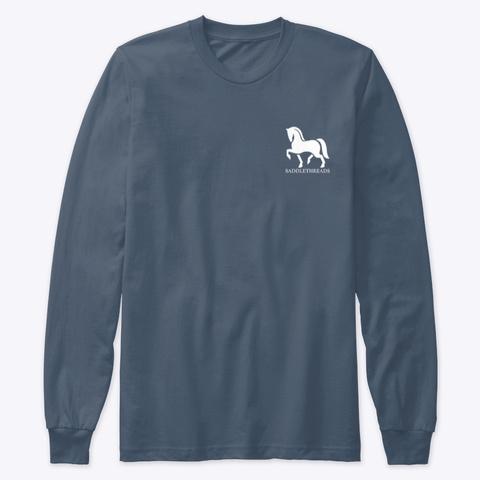 No Stirrup November Indigo T-Shirt Front