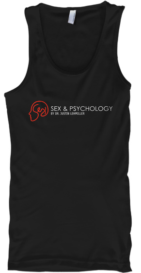 Sex And Psychology Swag Black Tank Top Front