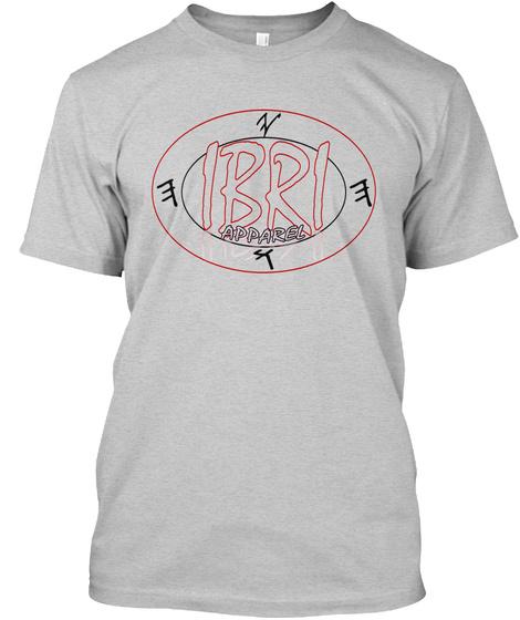 Hebrew Israelite Apparel Light Steel T-Shirt Front