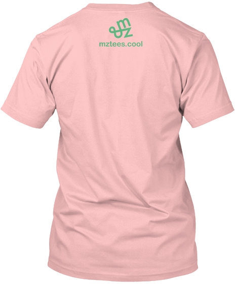 Chemical Family Pale Pink T-Shirt Back