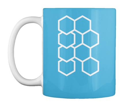 Hex R Mug Lt Blue Mug Front