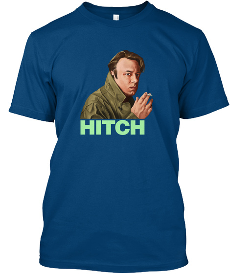 Hitch Cool Blue T-Shirt Front