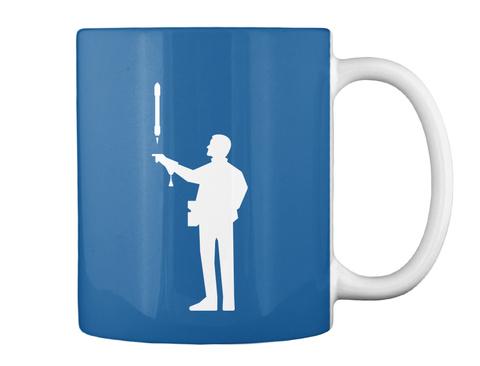 Falconer 3 Man Mug [Usa] #Sfsf Dk Royal Mug Back