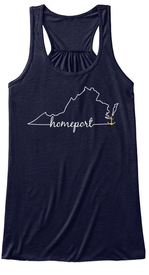 Homeport Midnight T-Shirt Front