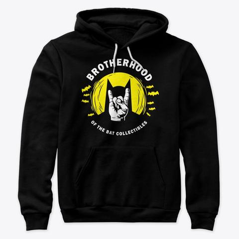 Brotherhood Of The Bat Collectibles Logo Black T-Shirt Front