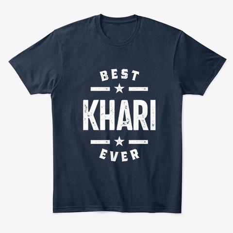 Khari First Name T Shirt New Navy T-Shirt Front
