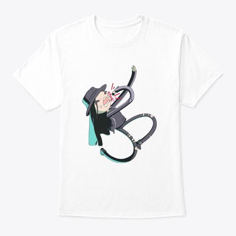 Lb. Brutal Noodle White T-Shirt Front