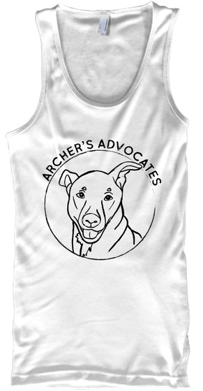 Archer's Advocates White T-Shirt Front