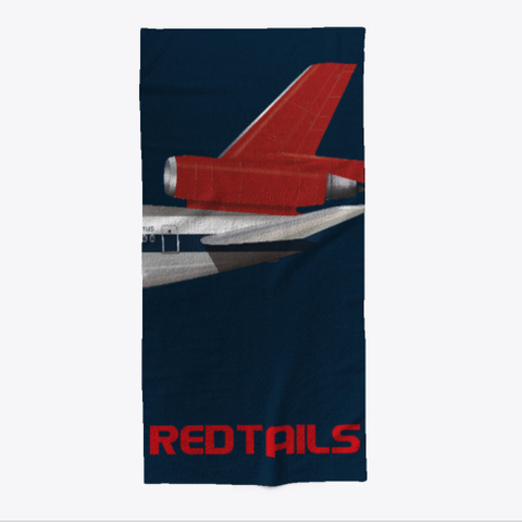 Red Tails Beach Towel Standard T-Shirt Front