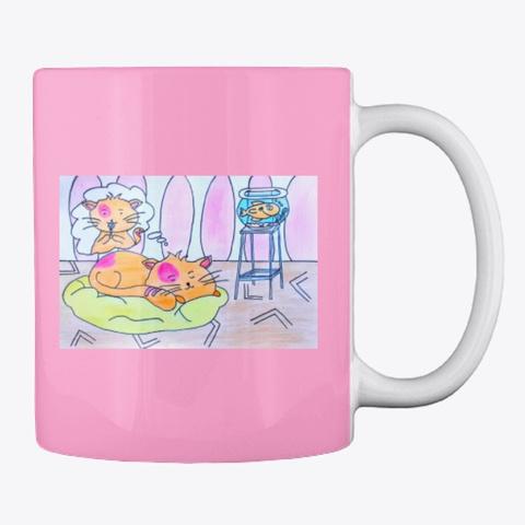 Dreamy Kitty Pink Camo T-Shirt Back