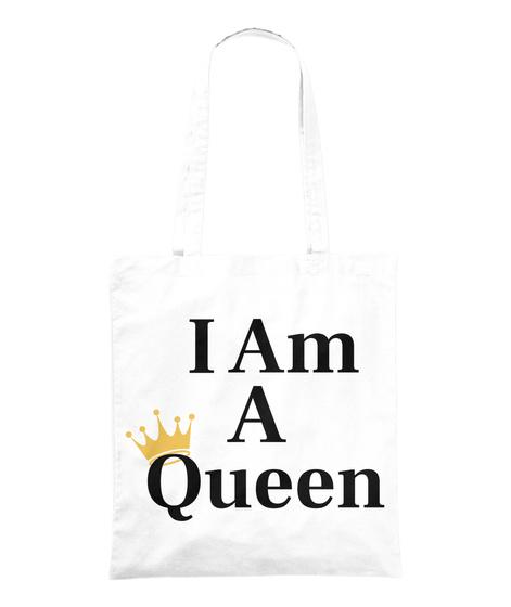 Queen Gear White T-Shirt Front