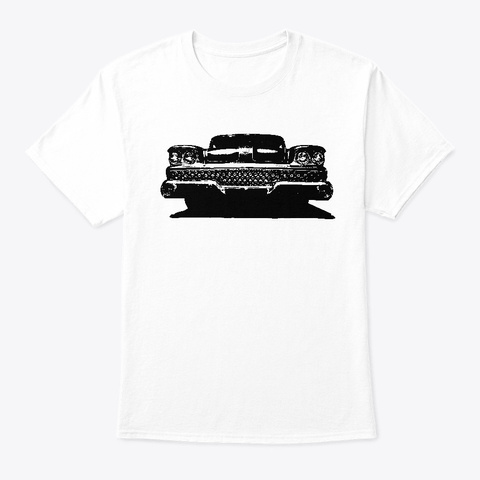 Low Rider White T-Shirt Front