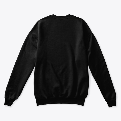 Lion Sweat Shirt Black T-Shirt Back