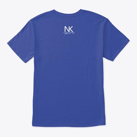 #Goals Deep Royal T-Shirt Back
