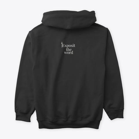 Theology Matters Hoodie Black T-Shirt Back