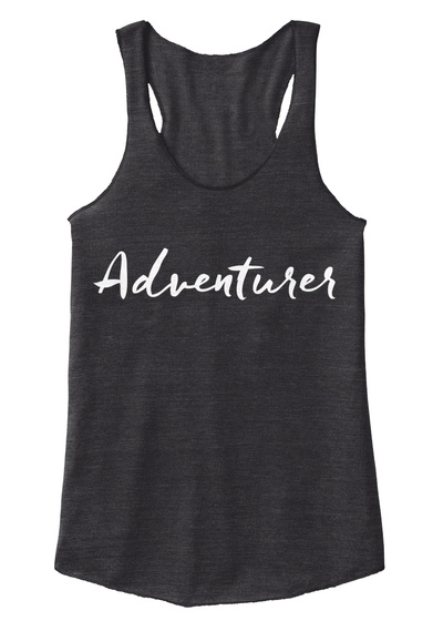 Adventurer Eco Black Women's Tank Top Front