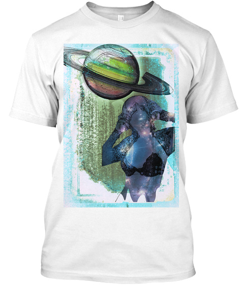 Paranormally Correct™ Soul Planet Tee White T-Shirt Front