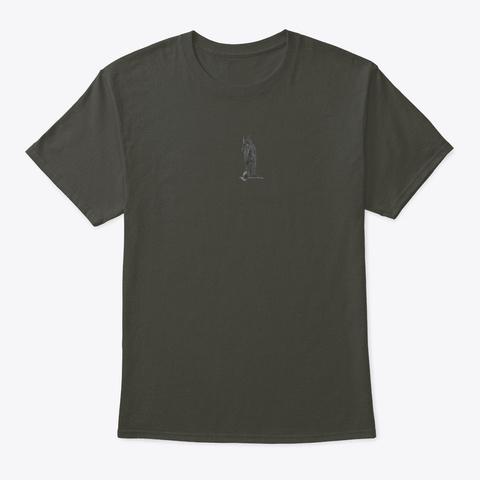 Tu Meke Bro Smoke Gray T-Shirt Front