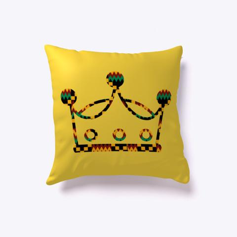 Fearless   Africa   Pillow Yellow T-Shirt Front
