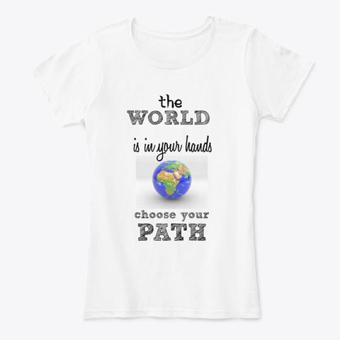 Emily Love White T-Shirt Front