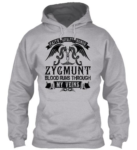 ZYGMUNT - My Veins Name Shirts Unisex Tshirt