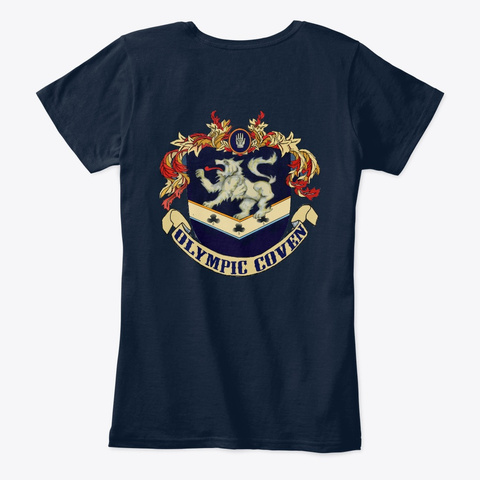 Pixie Vampire 2019 T Shirt New Navy T-Shirt Back