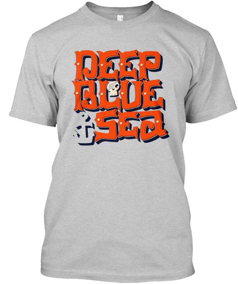 Deep Blue Sea Light Steel T-Shirt Front
