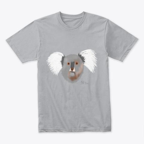 Cute Koala Heather Grey T-Shirt Front
