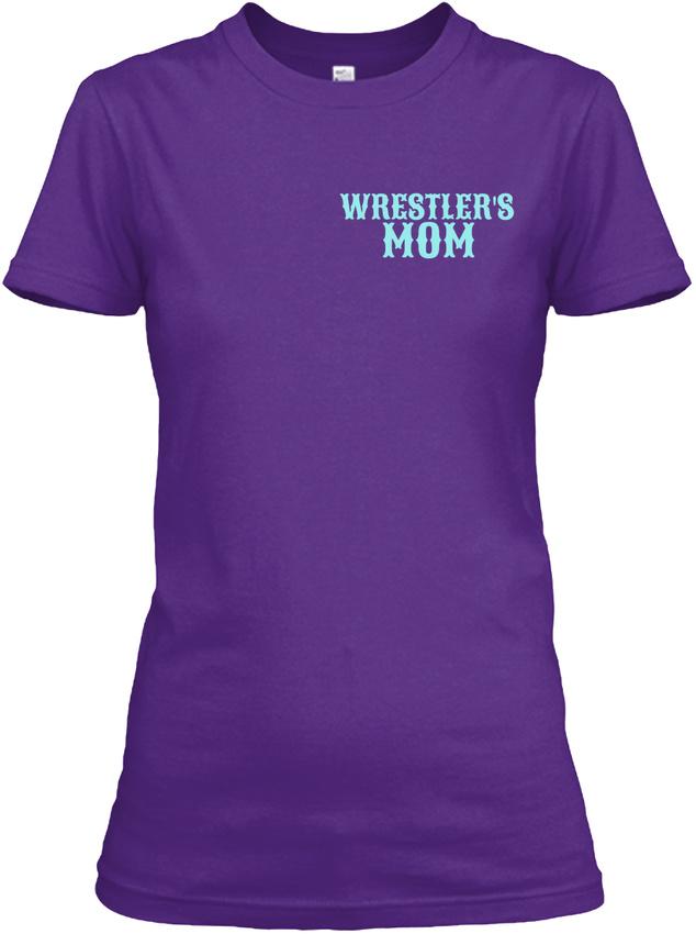 Tough-Crazy-Wrestling-Mom-Wrestlers-Mom-Gildan-Women-039-s-Tee-T-Shirt thumbnail 8