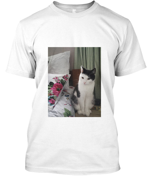 T Shirt For Cat Lovers White T-Shirt Front