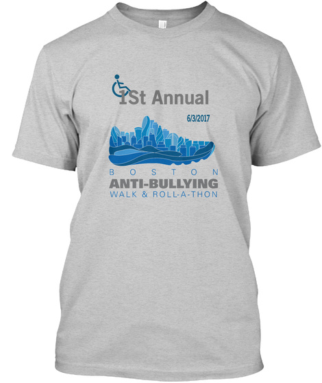 1 St Annual 6/3/2017 Light Steel T-Shirt Front