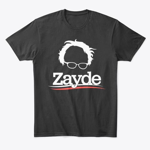 Bernie Is My Zayde Black T-Shirt Front
