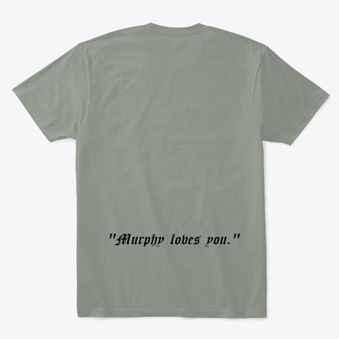'the Murphy' Cameo   Z Nation Grey T-Shirt Back