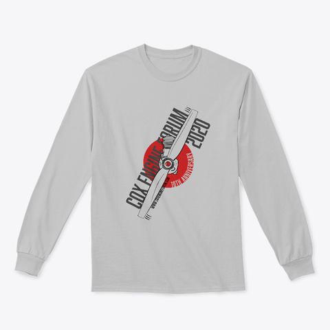 Cox Engine Forum 10th Anniversary Shirt Sport Grey T-Shirt Front