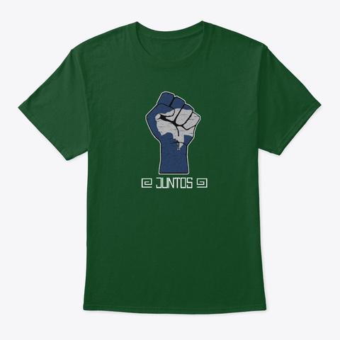 New Juntos Logo! Deep Forest áo T-Shirt Front