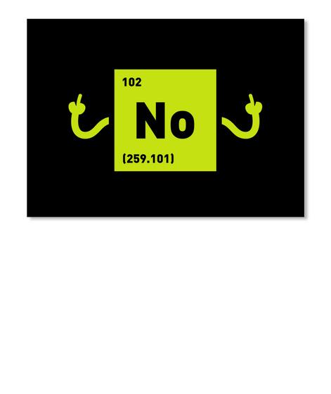 No Sticker [Usa] #Sfsf Black Sticker Front